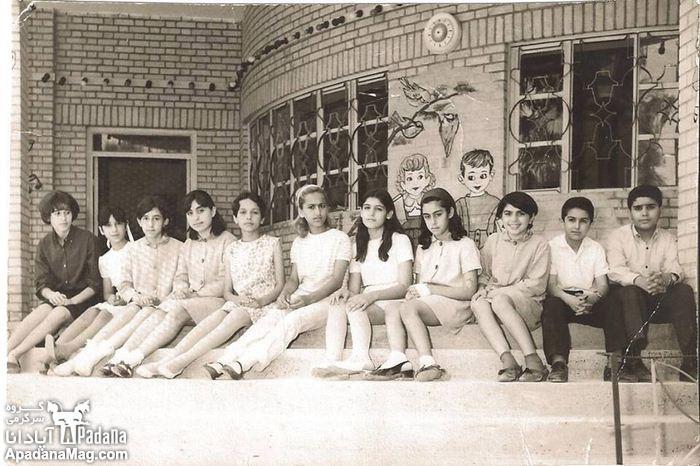 دکتر حسابی . دانش آموزان . دانش آموزان قدیم . عکس قدیمی دانش آموزان . عکس قدیم