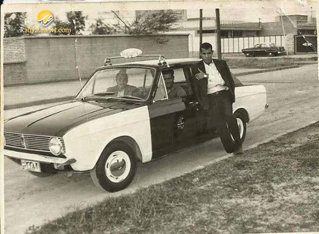 تاکسی قدیم . عکس قدیمی و دوران قدیم