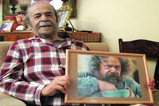 محمد علی کشاورز . عکس قدیمی بازیگران . فیلم پدر سالار . عکس قدیمی محمد علی کشاورز.