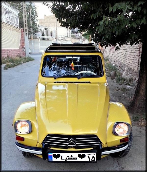 ماشین قدیمی . ژیان . زانتیا . ماشین قدیمی . ژیان سیتروئن
